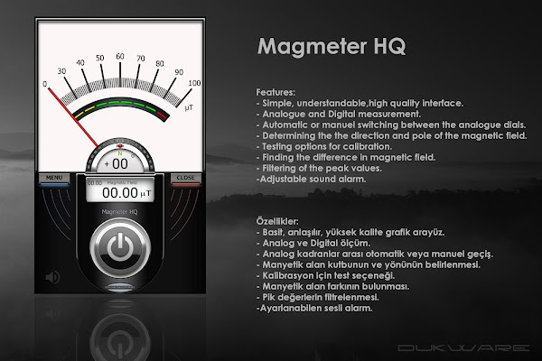 Magmeter HQ - screenshot