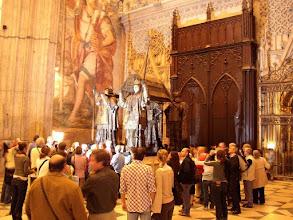 Photo: .... met binnenin het graf van Christophel Columbus.