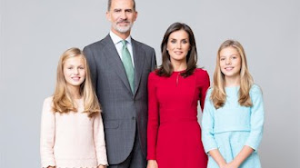 Retrato oficial de la Familia Real.