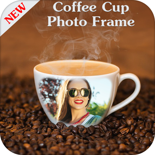 Coffee Cup Photo Frame - Morning Wishes