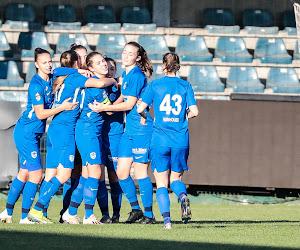Goed nieuws voor de fans: match tussen KRC Genk Ladies en Club Brugge vrijdagavond live te volgen