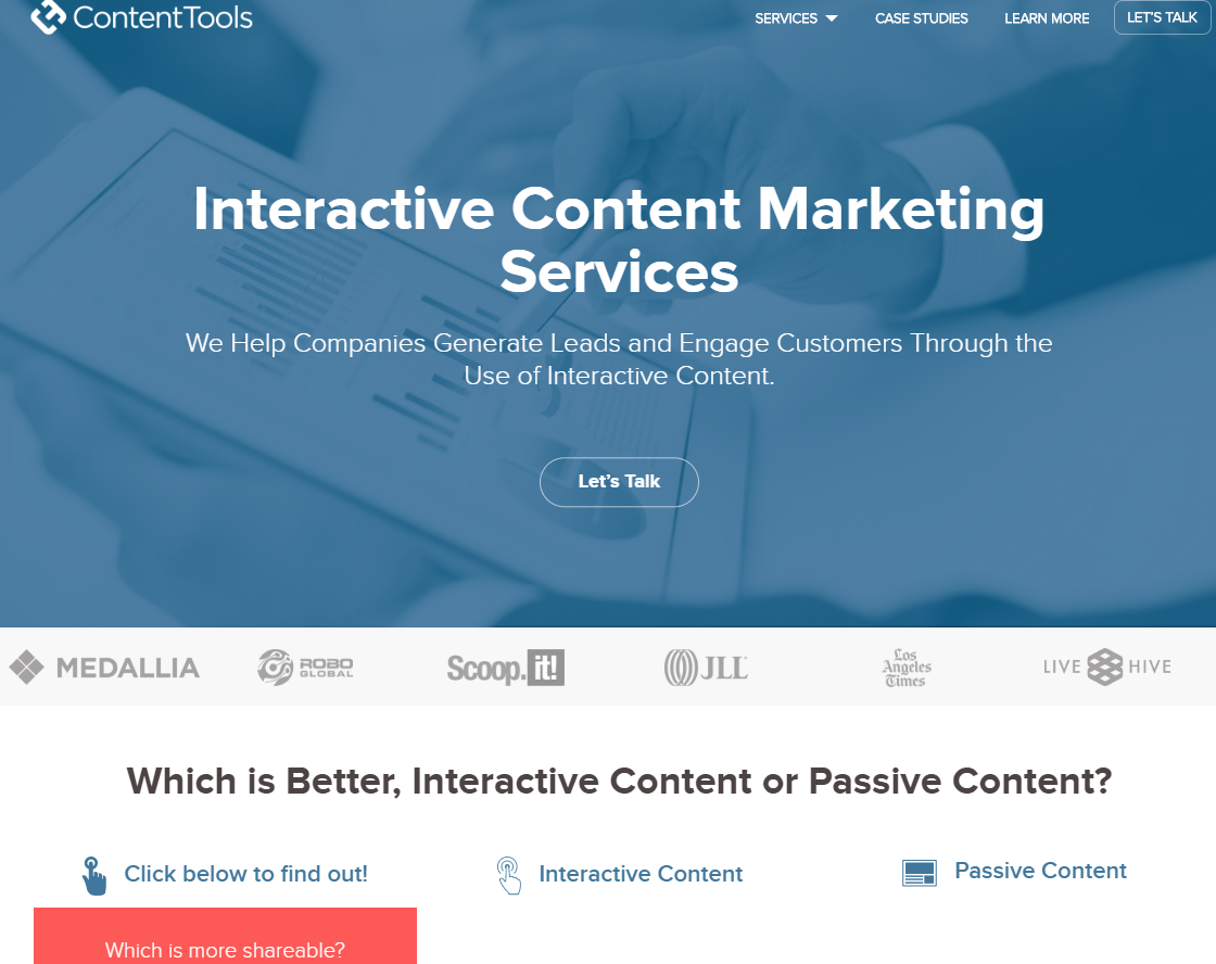 how to use tools to create interactive content