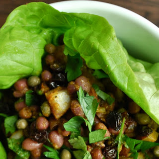 Curried Adzuki Bean Salad
