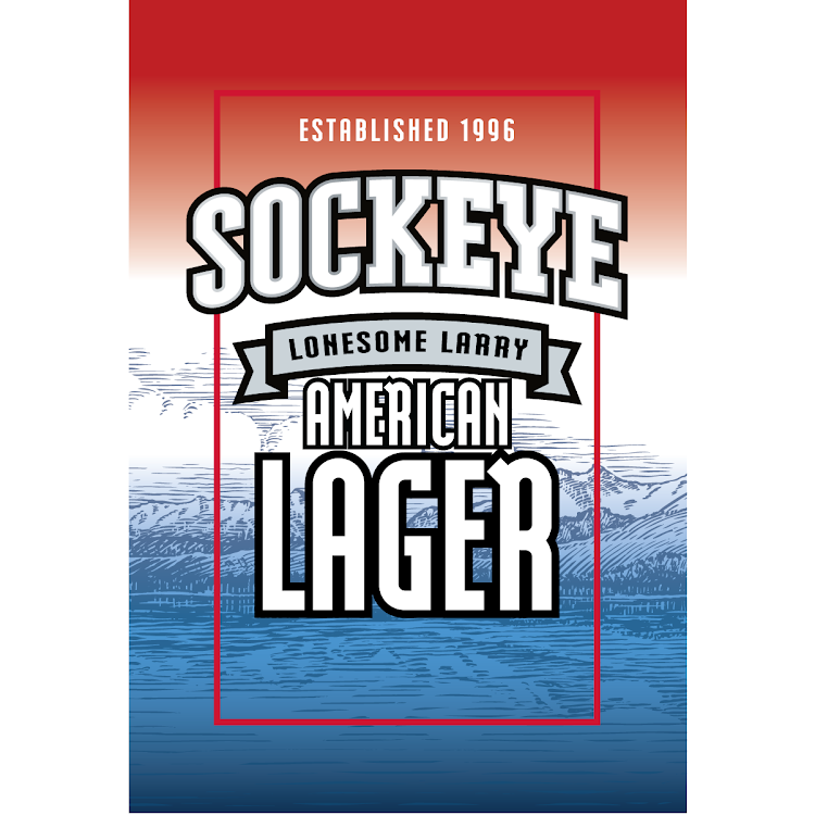 Logo of Sockeye Lonesome Larry Lager