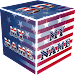 3D My Name Patriotic USA LWP Icon