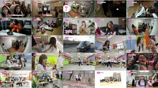 190321 (1080p) IZONE CHU Secret Friends ep01