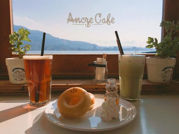 捷運淡水站 望淡水河絕佳風景的二樓咖啡廳 - Ancre café 安克黑咖啡 x 三芝秘境小八煙 - 田心子