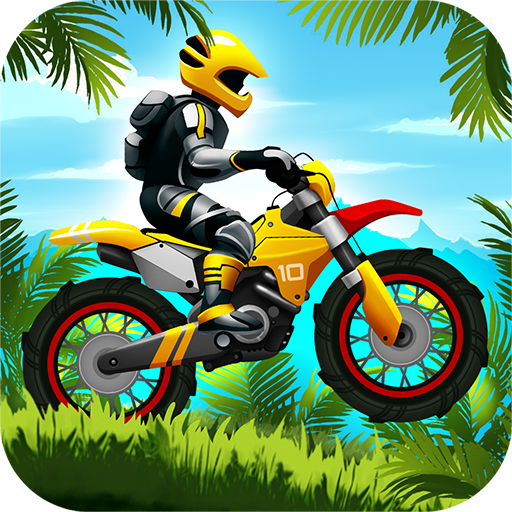 Jungle Motocross Extreme Racing Icon