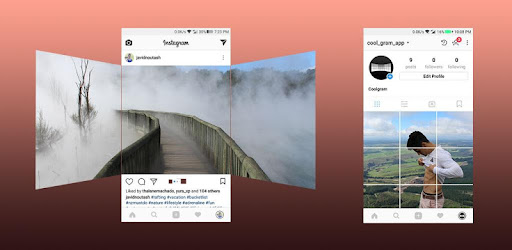 Coolgram - Instagram panorama, grid and square - Apps on