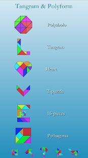 Download Tangram & Polyform Puzzle For PC Windows and Mac apk screenshot 1