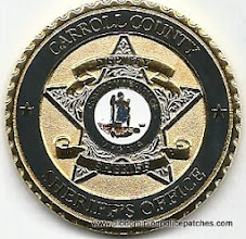 Photo: Carroll County Sheriff, Challenge Coin