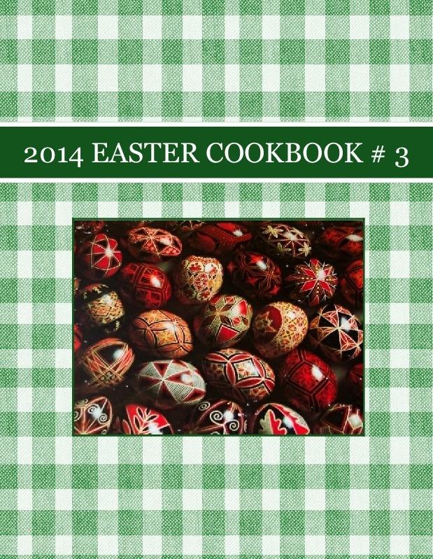 2014  EASTER COOKBOOK # 3