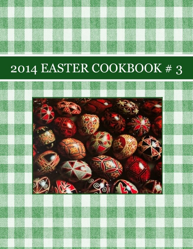 2014  EASTER COOKBOOK # 3