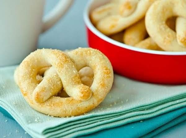 Nutmeg Cookie Pretzels Recipe