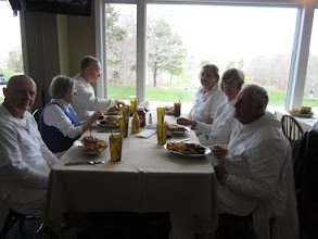 Photo: Luncheon following play at the ClubHouse Grill: Bill, Joyce, Ed, Louise, Cynthia, Lewis