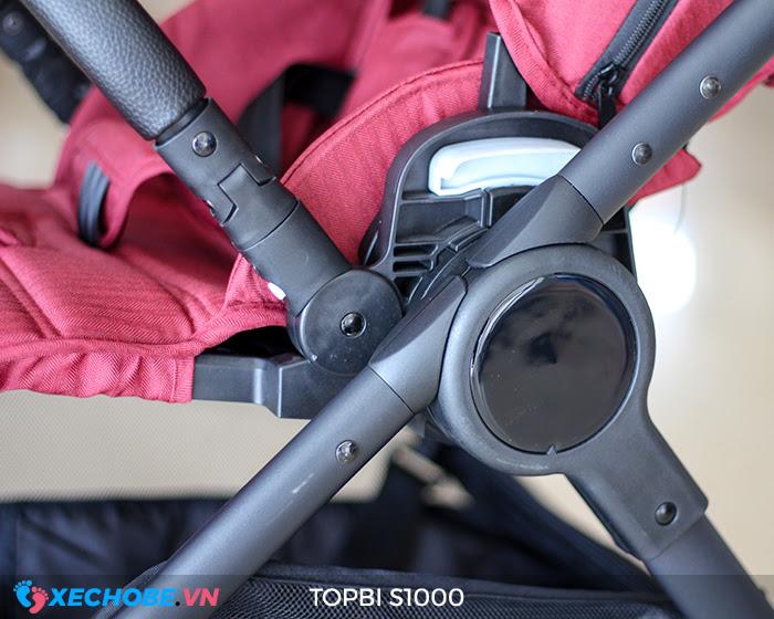 Xe đẩy cao cấp 2 chiều Topbi S1000 29