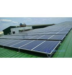 Hệ thống điện mặt trời nối lưới ba pha 20kw