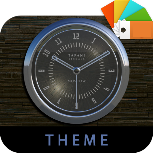 MOSCOW Xperia Theme blue gray app for Android