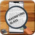 magnifier - magnifying glass with light