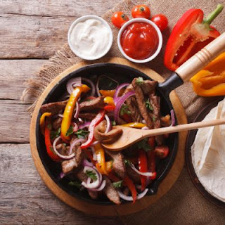 Spicy Lemon-Lime Tabletop Fajitas