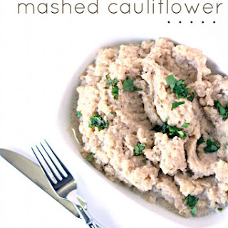 Slow Cooker Mashed Cauliflower