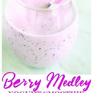 Berry Medley Yogurt Smoothie.