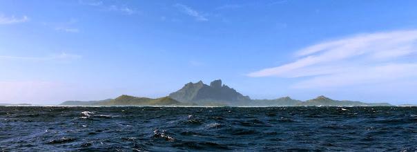 Photo: A swift afternoon sail to Bora Bora
