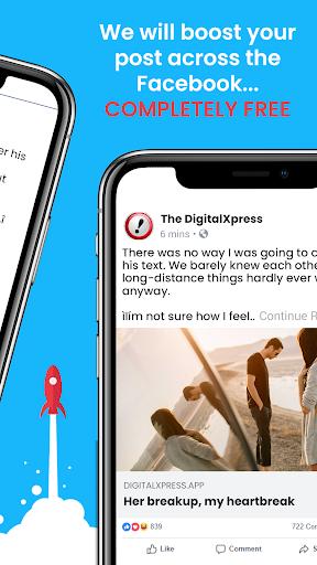 The DigitalXpress - A true freedom of speech app. 1.0 screenshots 2