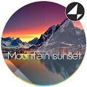 Mountain Sunset for Xperia™