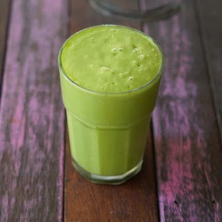 Healthy Green Tropical Smoothie Recipe