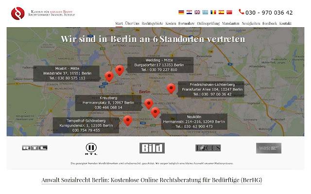Anwalt Sozialrecht Berlin I.Schulz