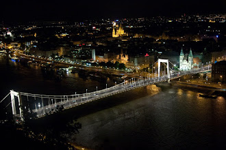 Photo: Budapest by night