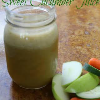 Sweet Cucumber Juice.
