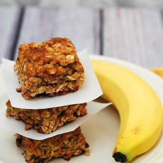 Banana-Oatmeal Squares
