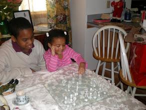 Photo: playing chess