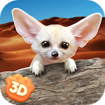 Fennec Fox Simulator 3D - Cute Animal Game Icon