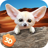 Fennec Fox Simulator 3D - Cute Animal Game