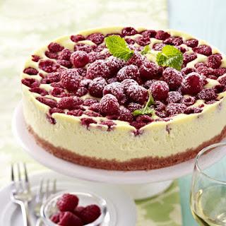 Raspberry Cheesecake.