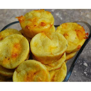 Mini Cheddar Garlic Popovers