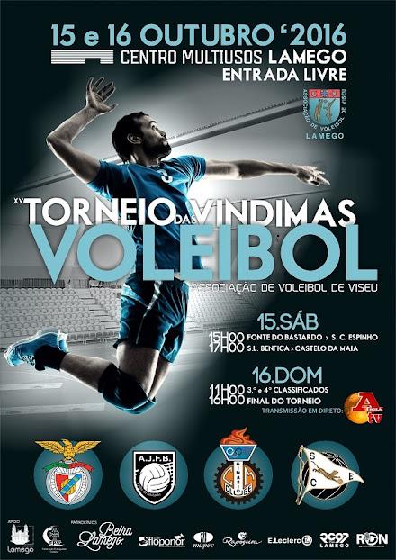 Voleibol - XV Torneio das Vindimas - Lamego - 15 e 16 de Outubro