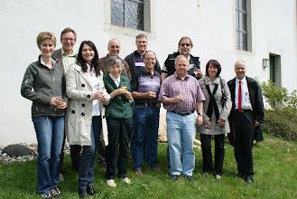 Photo: Baukommission, Kirchenpflege und Gemeindevertretung