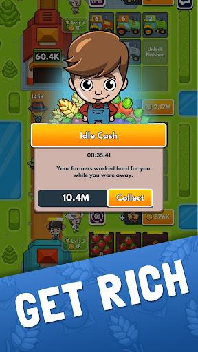 Idle Farm Tycoon - Merge Simulator apkpoly screenshots 5