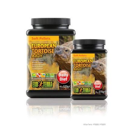 Landsköldpaddsfoder Vuxna 570g Soft Pellets