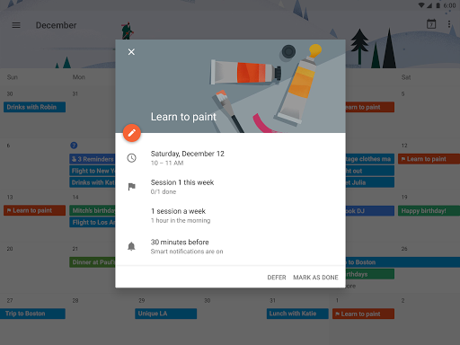 Google Calendar for PC
