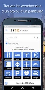 118 712 annuaire pro et local screenshot 0