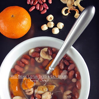 Red Bean, Lotus Seed, and Lily Bulb Sweet Soup