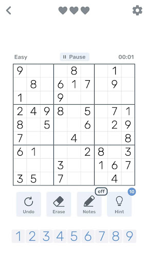 Sudoku Logic 0.1.4 screenshots 1