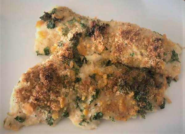 Citrus Crusted Pollock With Orange Salt