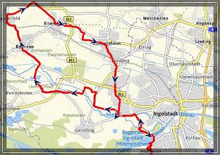 Photo: 30.08.2012 - Biergartentour der Ingo Radler zum Biergarten Stark ( Thummerwirt ) Tauberfeld : GPS Tour Aufzeichnung hier >> http://72g.de/whk