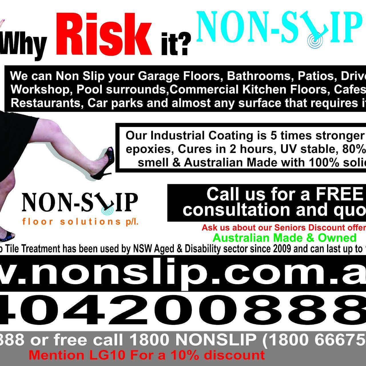 Non Slip Floor Solutions   Anti Slip Tiles, Epoxy Coating, Cleaning